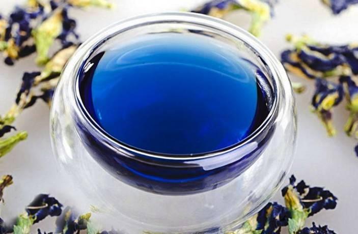Синий чай из тайланда полезные свойства отзывы