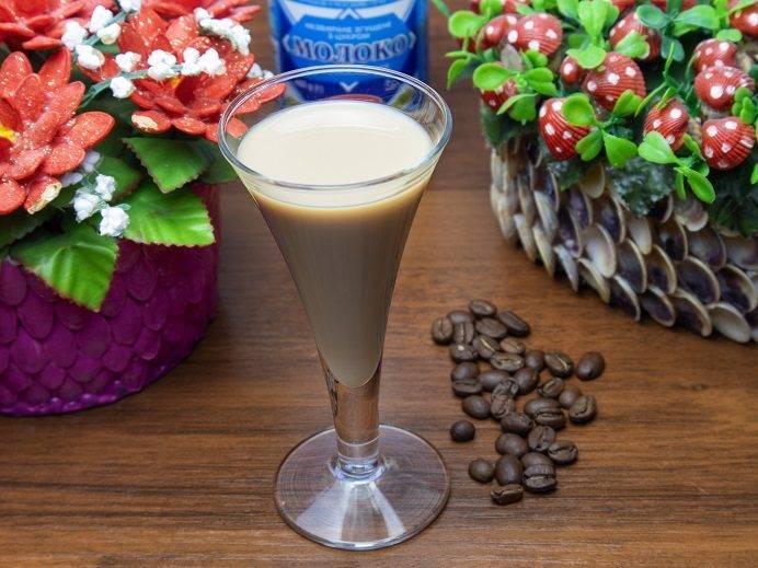 Домашний кофейный ликер – классический рецепт и со сгущёнкой