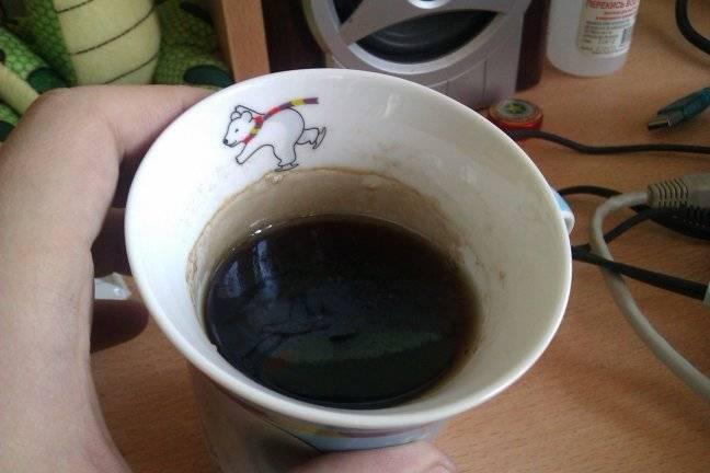 Как очистить термос от чайного налета внутри: проверенные средства
