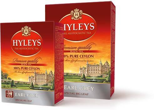 Рестайлинг упаковки чая hyleys - teaterra | teaterra