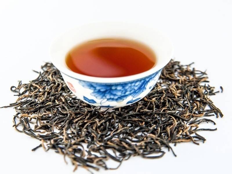 Красный китайский чай цзинь цзюнь мэй — золотые брови