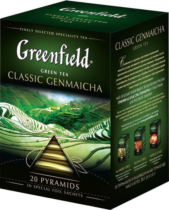 Зеленый чай гринфилд (greenfield): ассортимент, особенности и виды