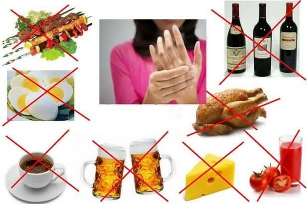 Диетическое меню №6 — лечебное питание при подагре