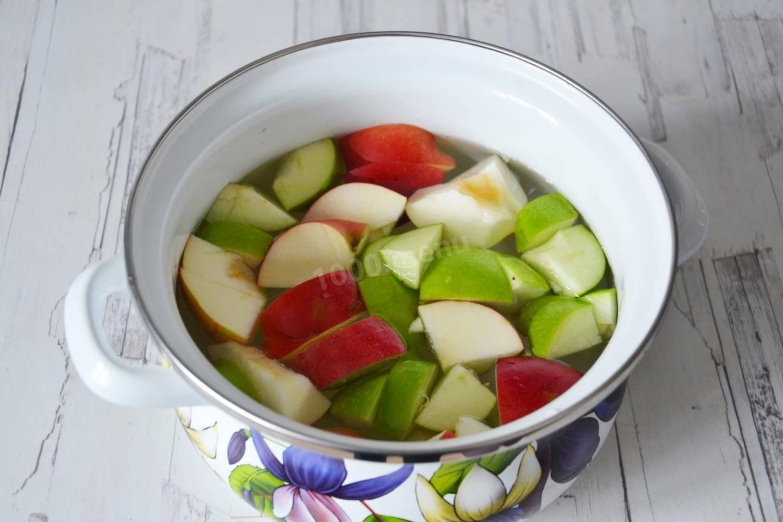 Компот из яблок на зиму - 10 рецептов на 3-х литровую банку с пошаговыми фото