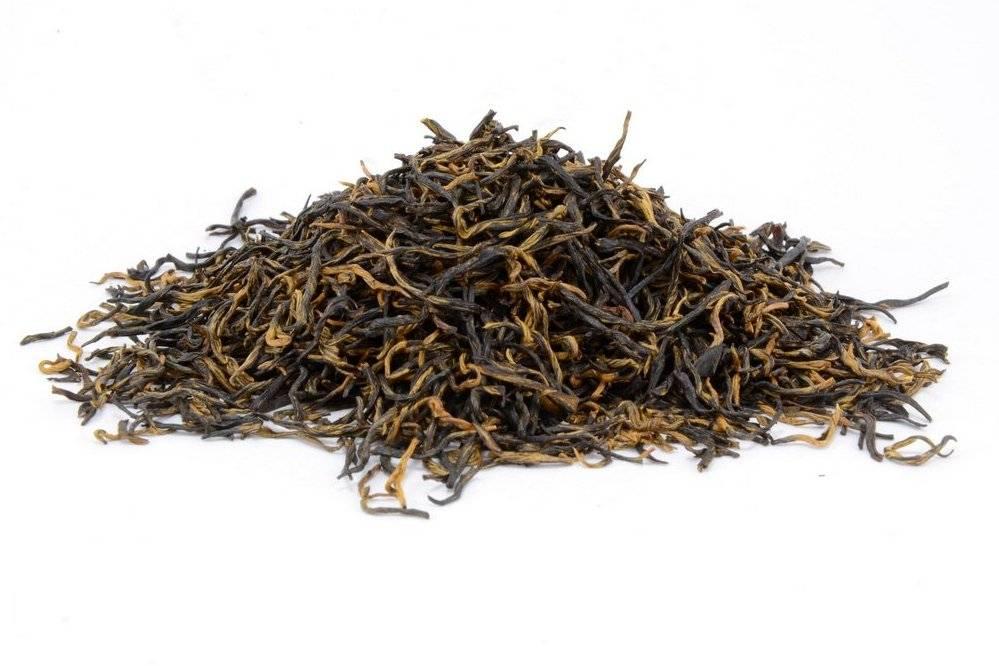 Красный чай цзинь цзюнь мэй (золотые брови) 50г. китай  (№red_tea_tszinj_tszunj_mej)