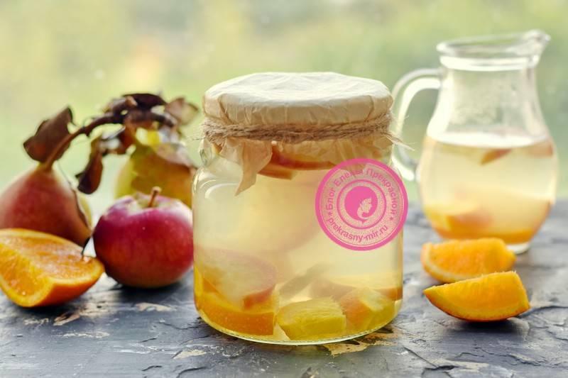 Компот из апельсинов: 7 пошаговых рецептов, как сварить на зиму с фото