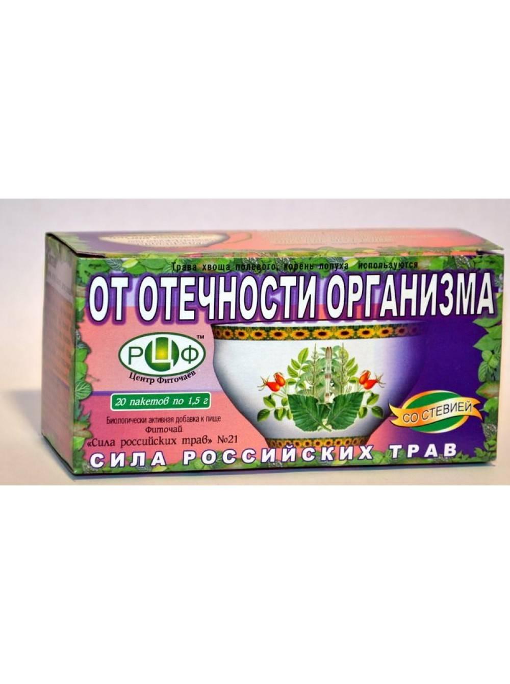 Чай от отеков: рецепты, эффективность, противопоказания