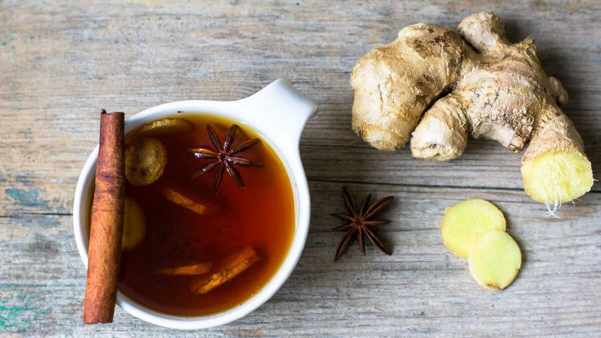Имбирный чай: польза и вред. 5 рецептов чая с имбирем
