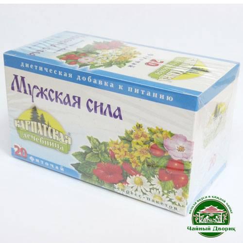 Чай для потенции - какие травы и сборы положительно влияют на мужское здоровье