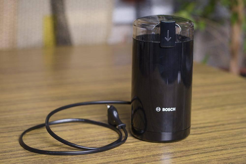 Основные характеристики кофемолок Bosch, плюсы и минусы