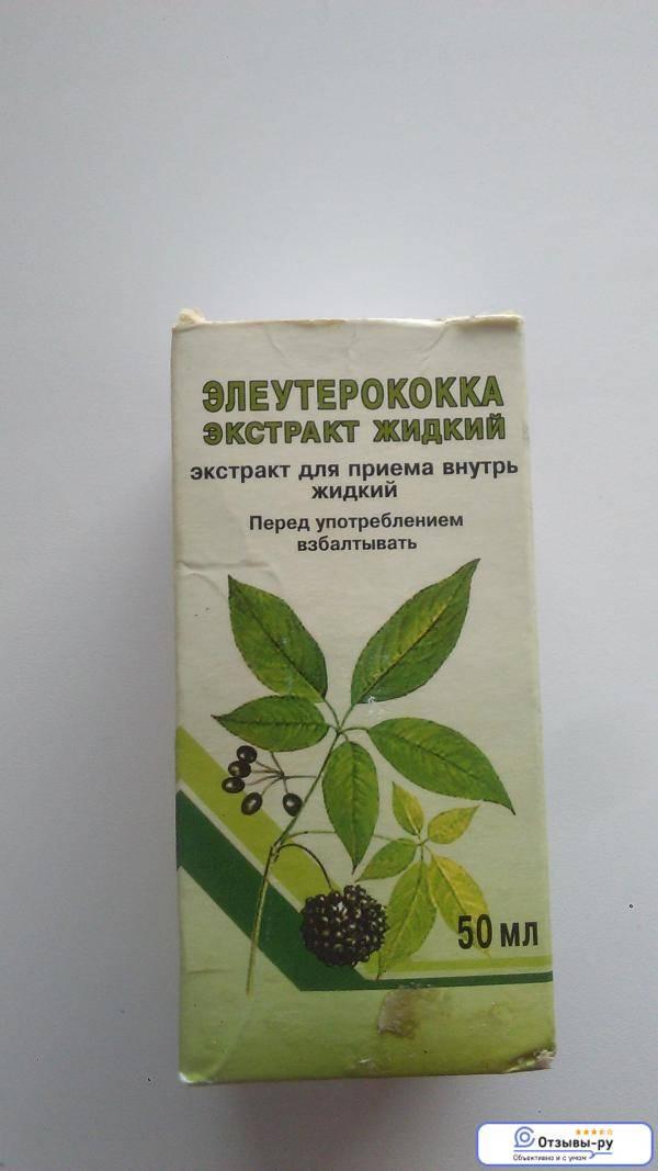 Польза и вред настойки элеутерококка | medboli.ru