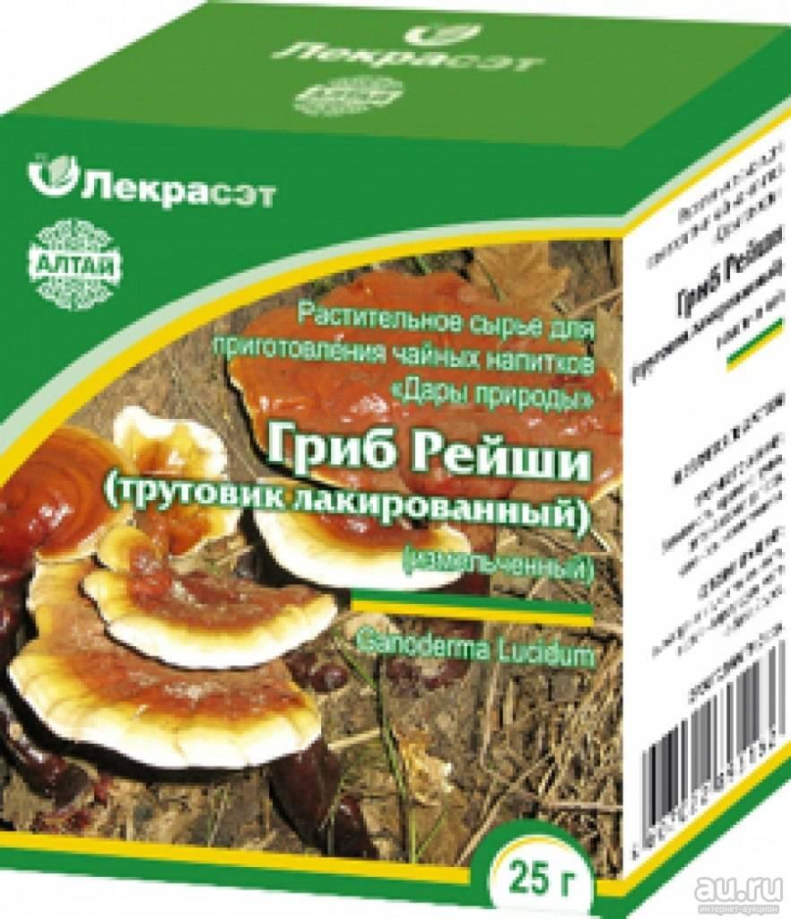 Целебные свойства гриба рейши