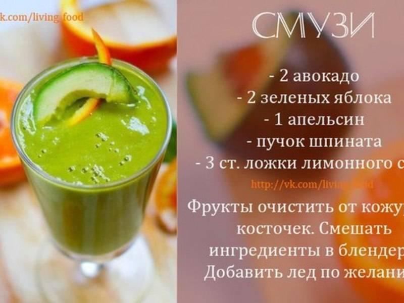 20 рецептов вкуснейших и полезнейших смузи