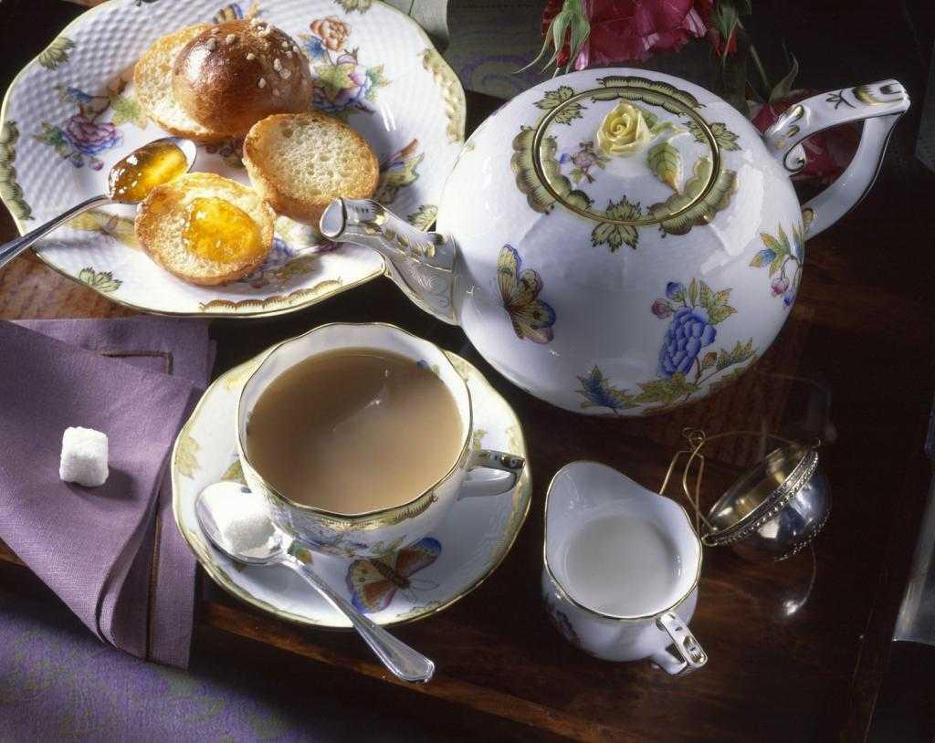 Рецепт чая из страны туманного альбиона   великий чайный путь