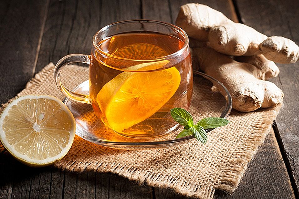 Имбирь при простуде, рецепты чая