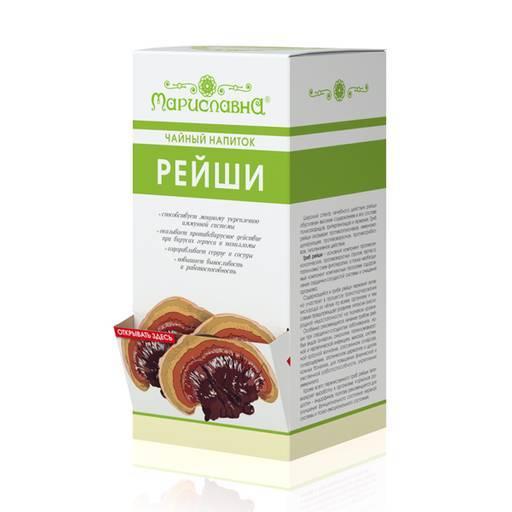 Чай с грибом рейши – уникальный напиток с большими возможностями