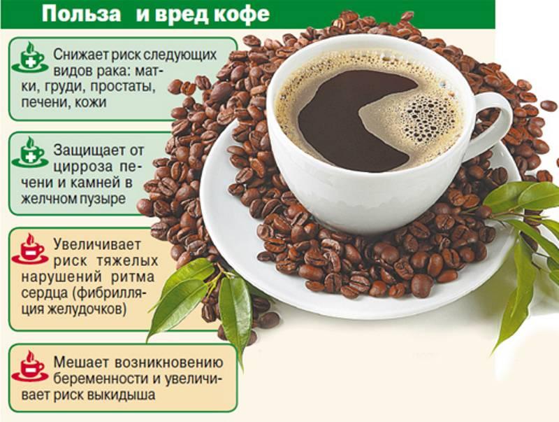 Употребление кофе после 50 лет, польза и вред для здоровья