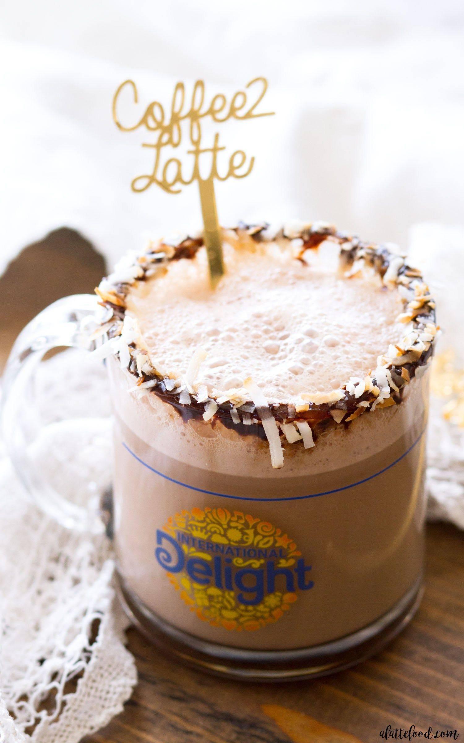 Кофе с кокосовым молоком: рецепт