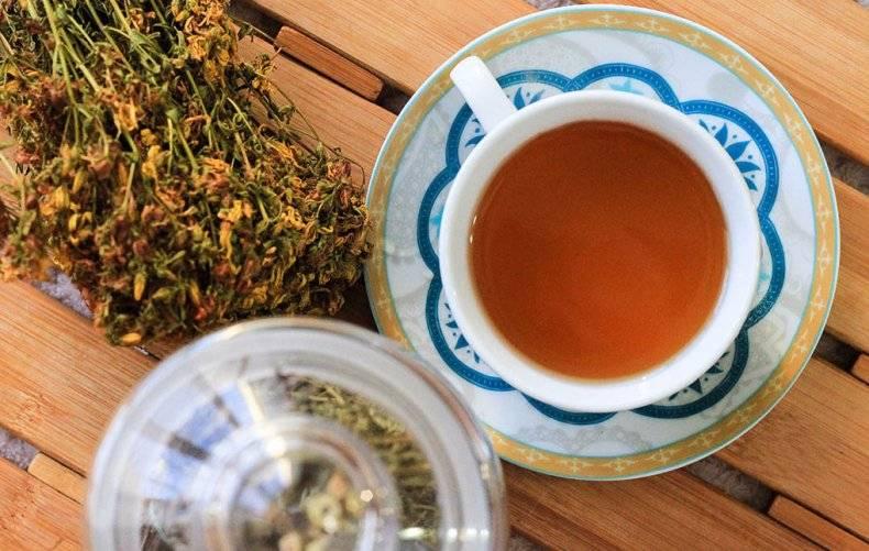 Рецепты чая со зверобоем | дары природы.су