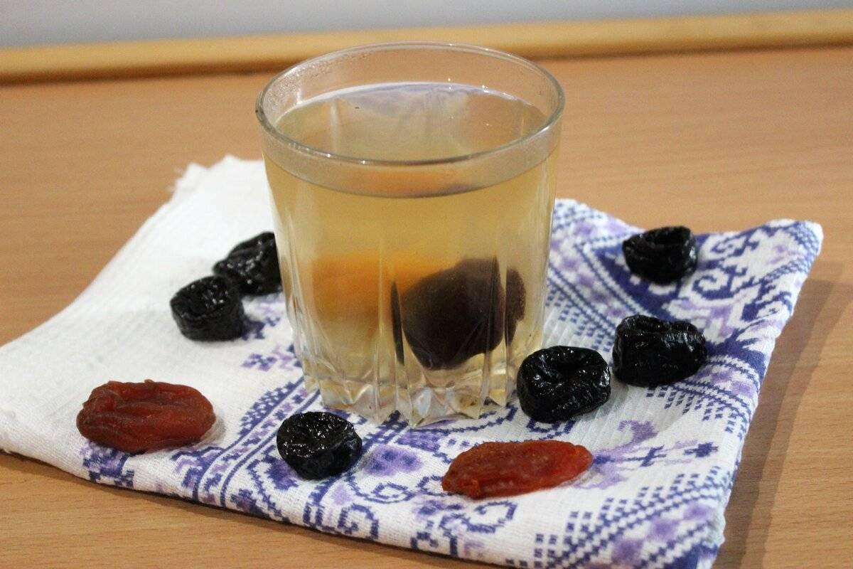 Компот из сухофруктов в кастрюле рецепт с фото пошагово - 1000.menu