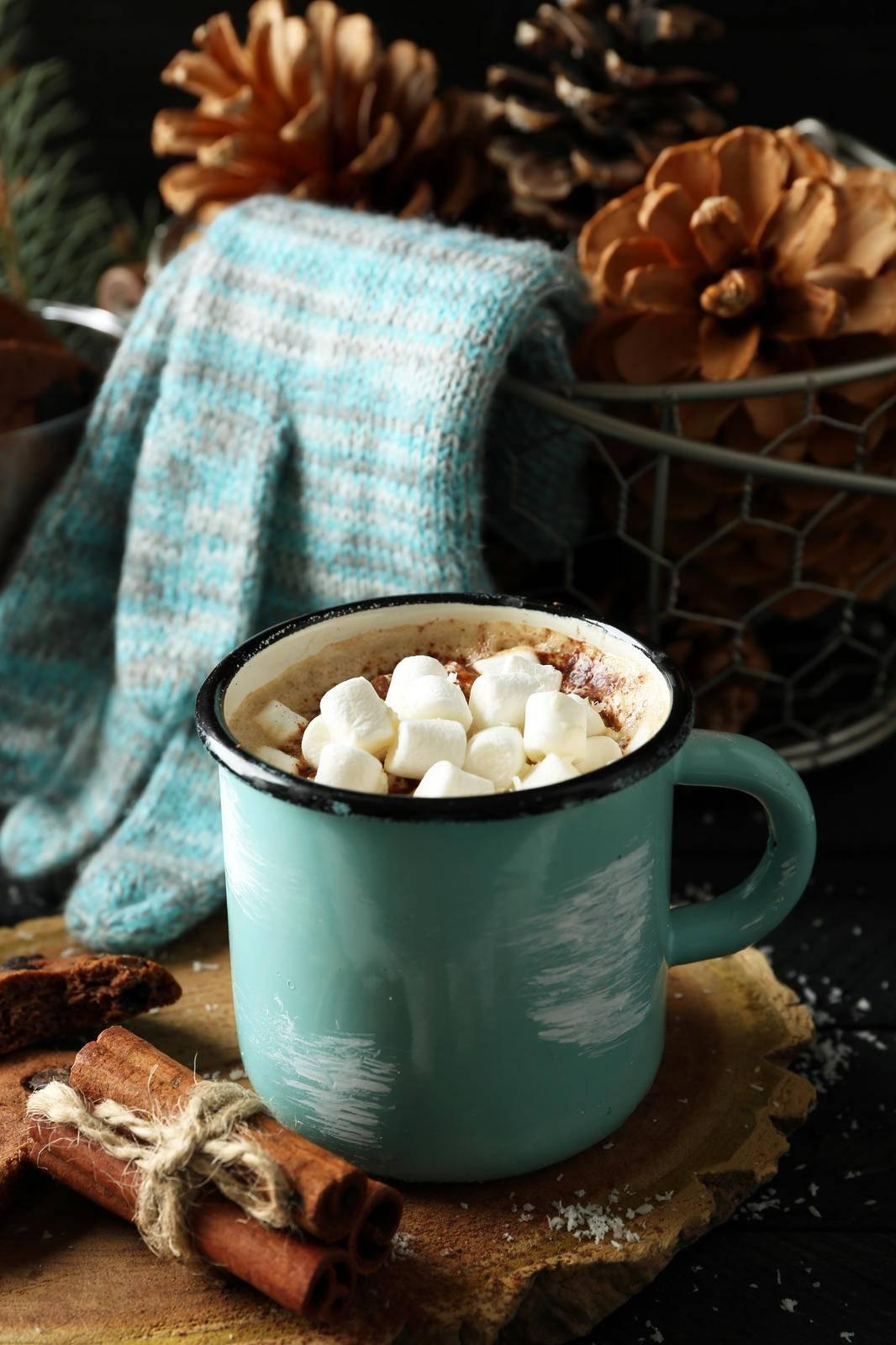 Какао с зефирками: рецепт приготовления напитка