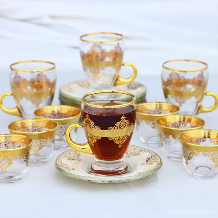 Что такое армуды и как выбрать турецкие стаканчики для чая