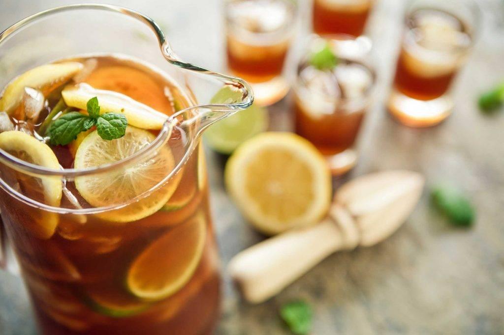 Домашний холодный чай: вкусный, освежающий и без «химии»