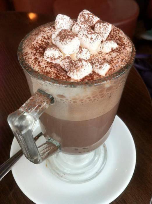 Кофе с зефиром   рецепты кофе