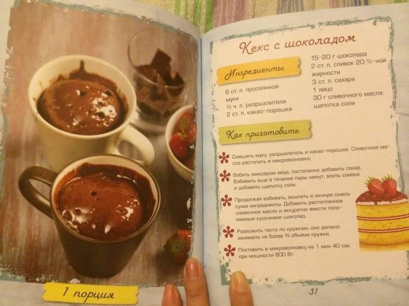 Кекс с кофе в кружке в микроволновке: пошаговый рецепт с фото