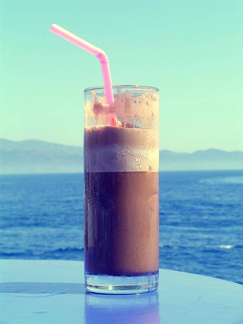Греческий кофе: как приготовить кофе в турке, кофе фраппе, традиции кофе в греции