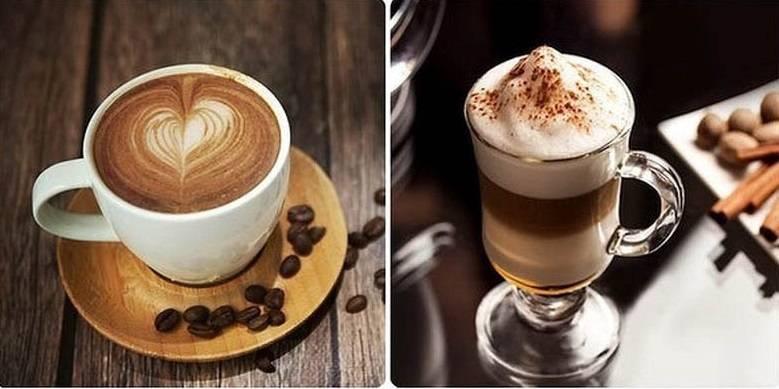 Чем отличается латте от капучино: разница между двумя видами кофе