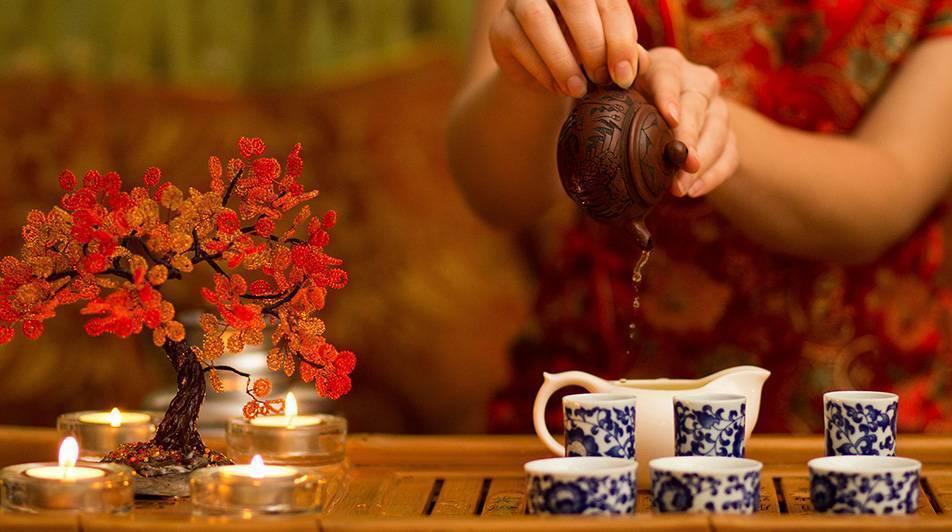 Китайская чайная культура — википедия