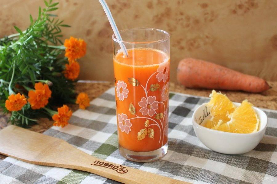 Морковный чай и его полезные свойства, рецепты из свежей и сушеной моркови