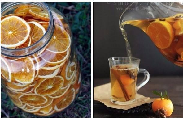 Чай с имбирем и корицей для похудения - рецепт