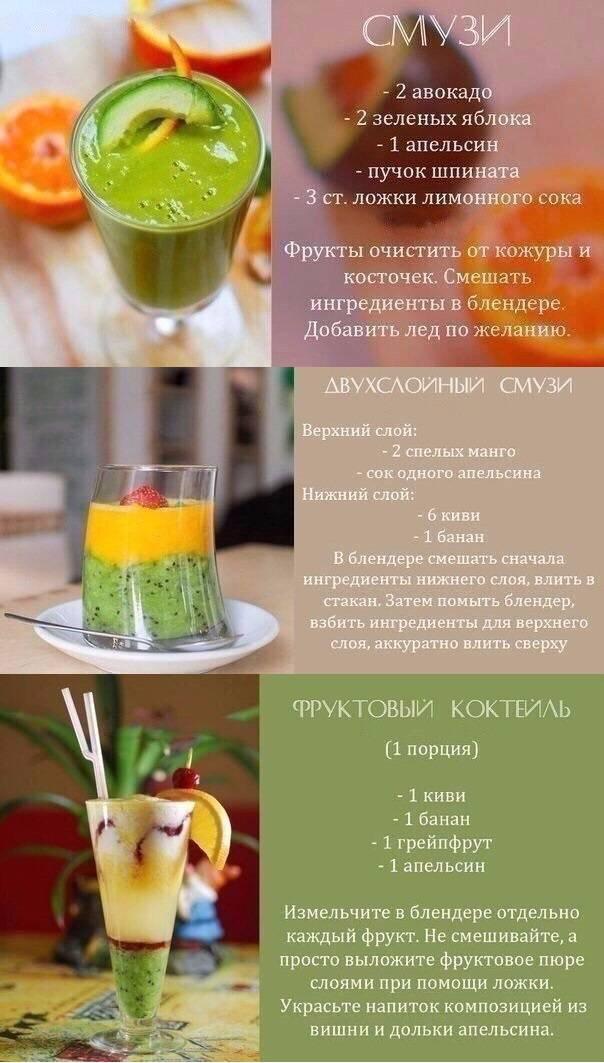 Смузи со шпинатом