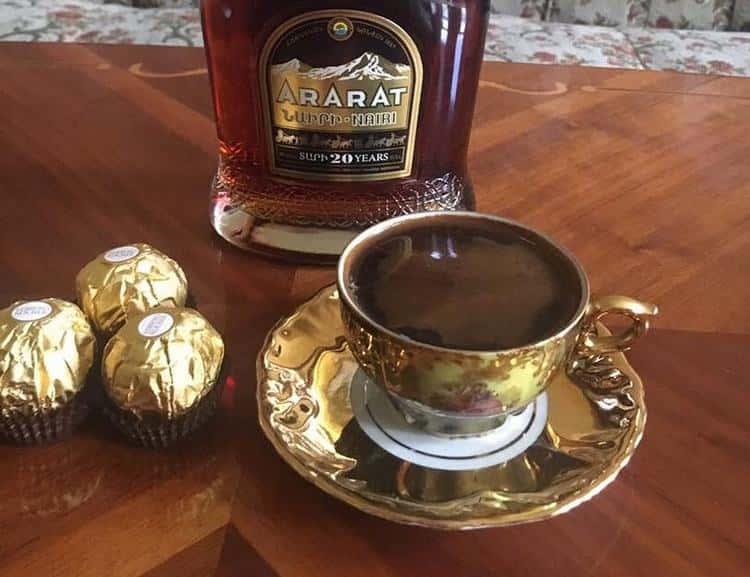 Коньячный кофе для истинных ценителей жизни
