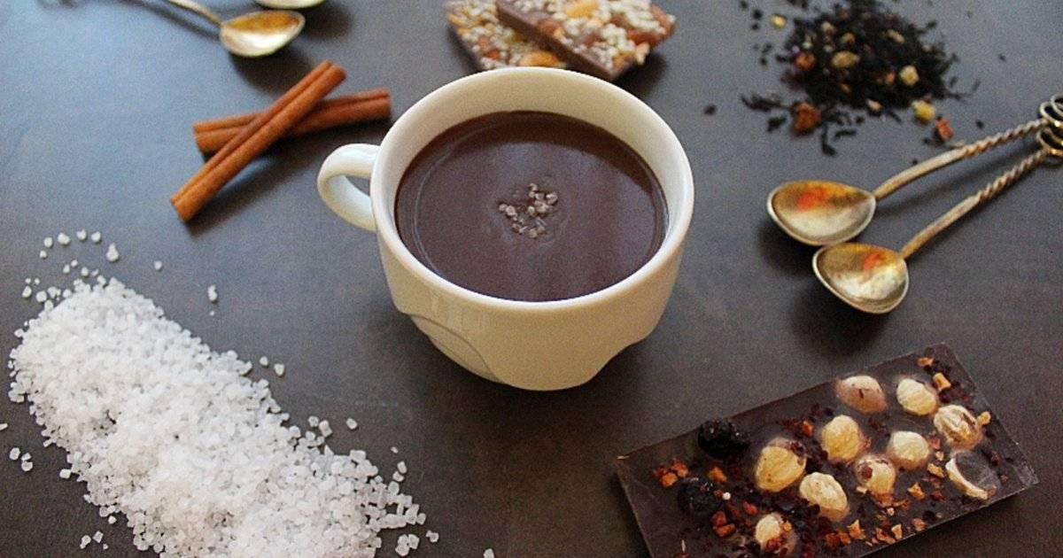 Горячий шоколад «зимний вечер»: рецепты, особенности приготовления