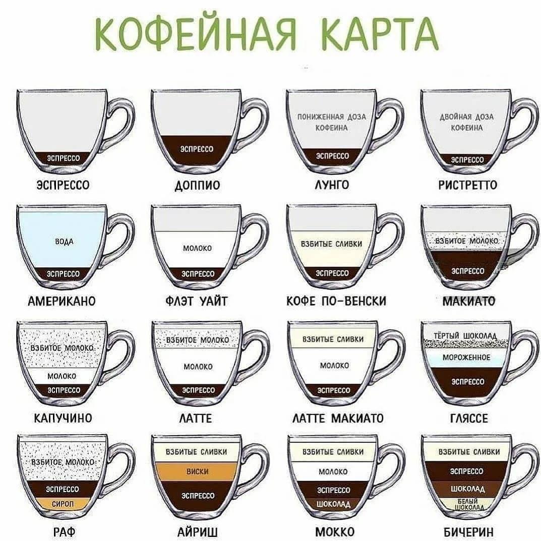 Классификация кофе по его различным характеристикам
