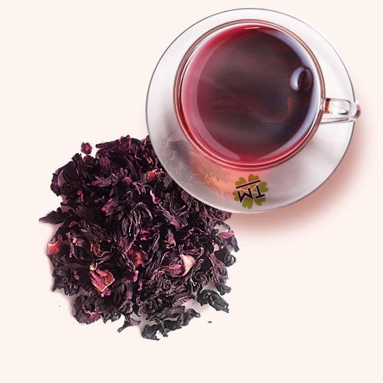 Чай из гибискуса – описание, свойства, применение, польза для организма