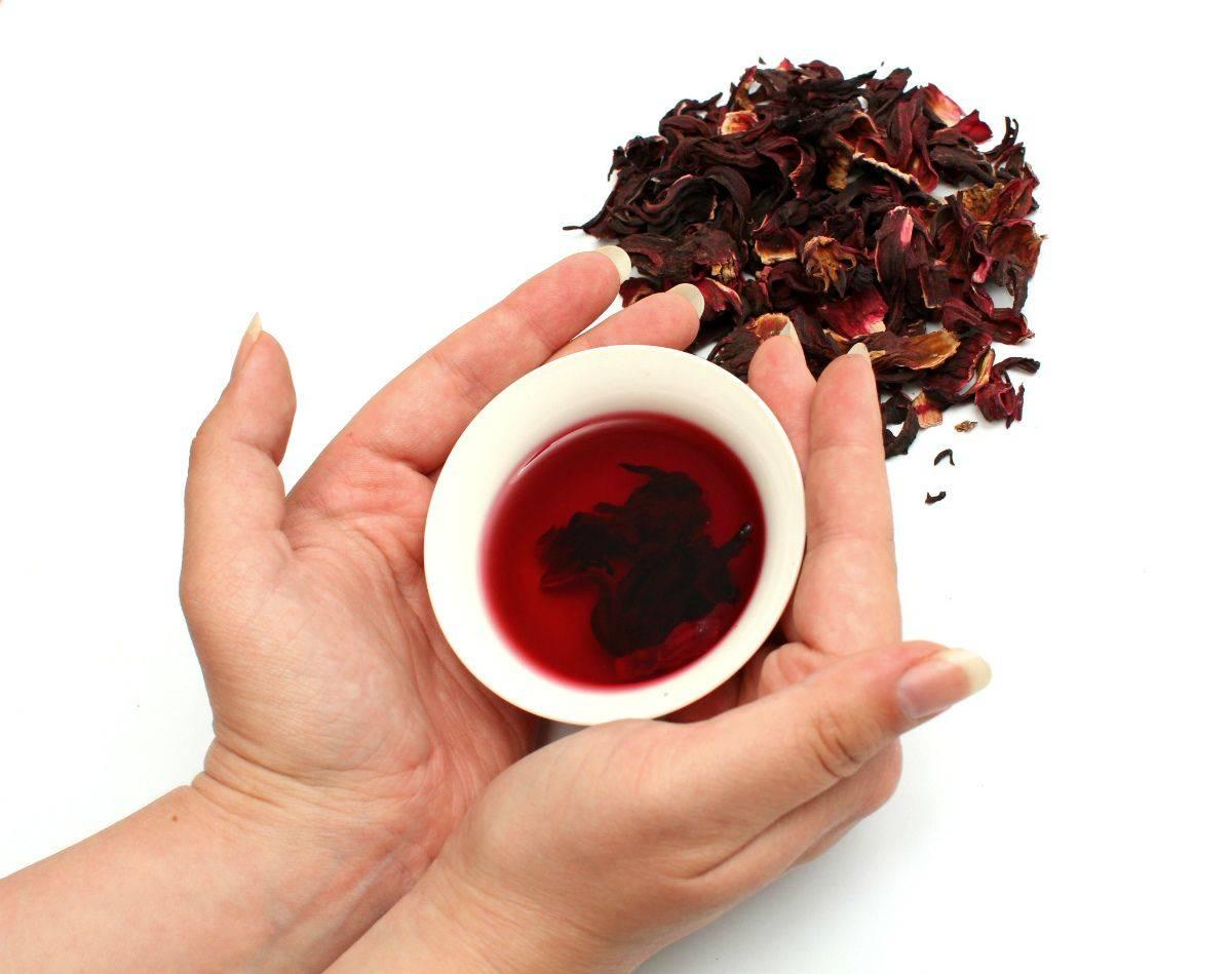 Польза и вред чая каркаде, противопоказания