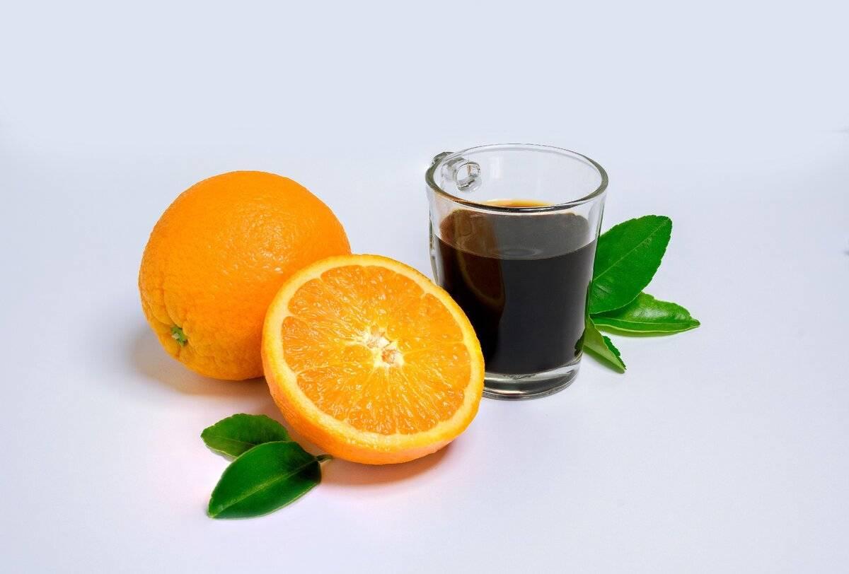 Двойной заряд бодрости — кофе с апельсиновым соком