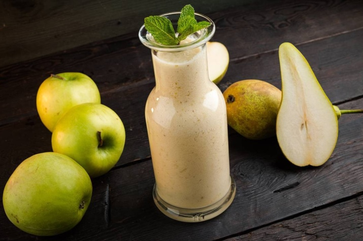 Смузи из яблок, рецепты в блендере (с огурцом, бананами)