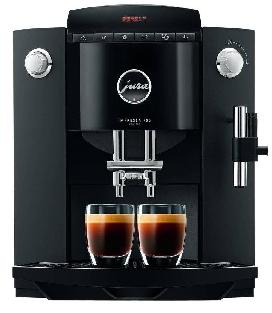 Правила использования кофемашины jura impressa f50