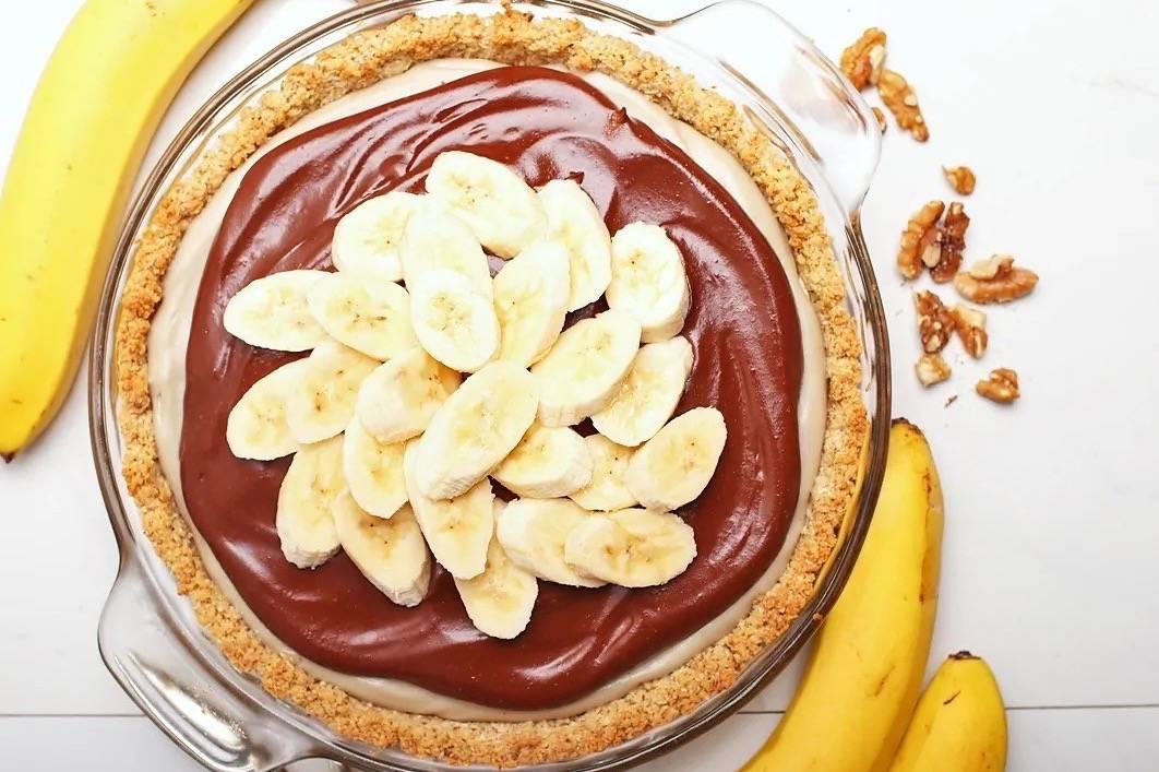 Как сделать брауни с бананом