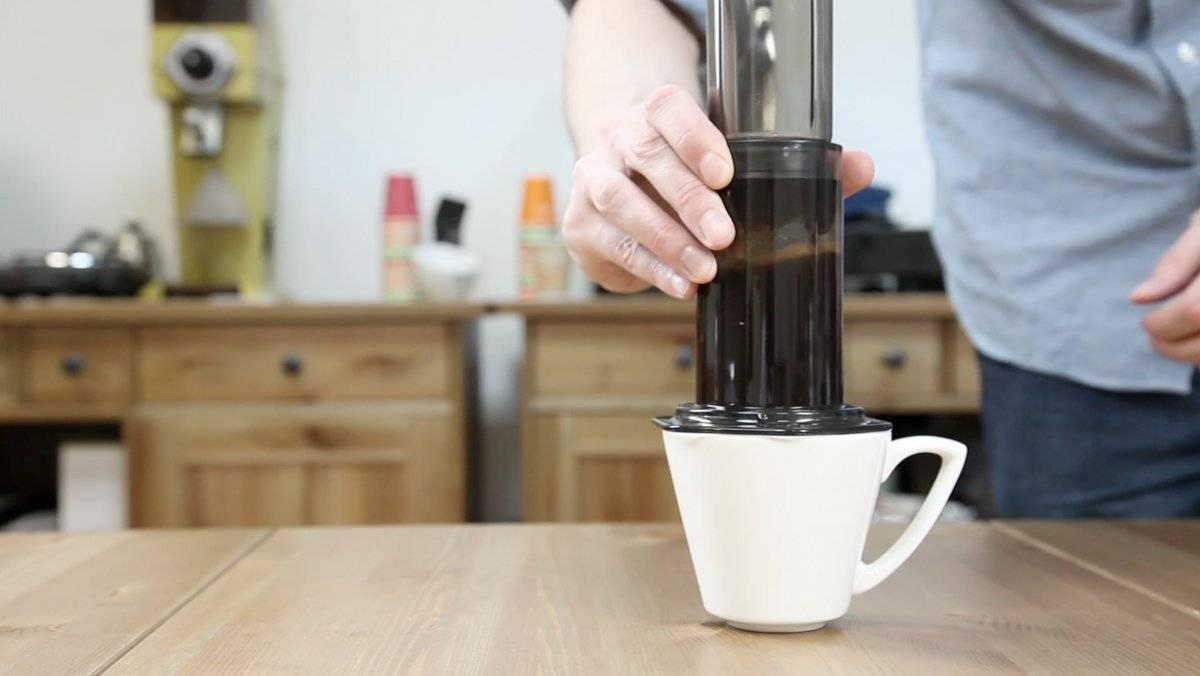 Аэропресс для кофе: что это и как заваривать