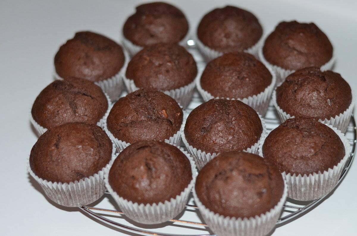 Шоколадные маффины: 10 сладких рецептов