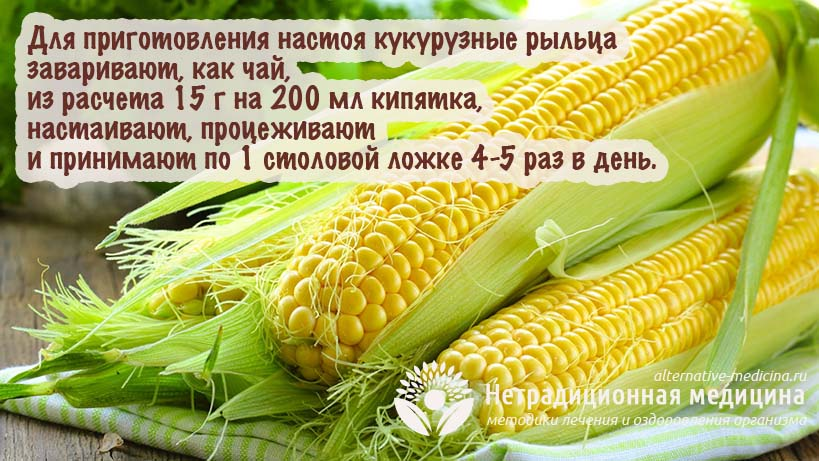 Кукурузные рыльца для похудения - как принимать, схема, эффективность