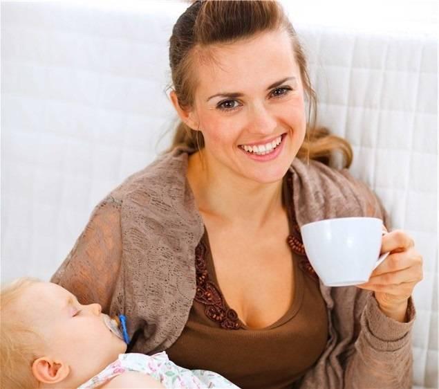 Какой чай можно пить при грудном вскармливании