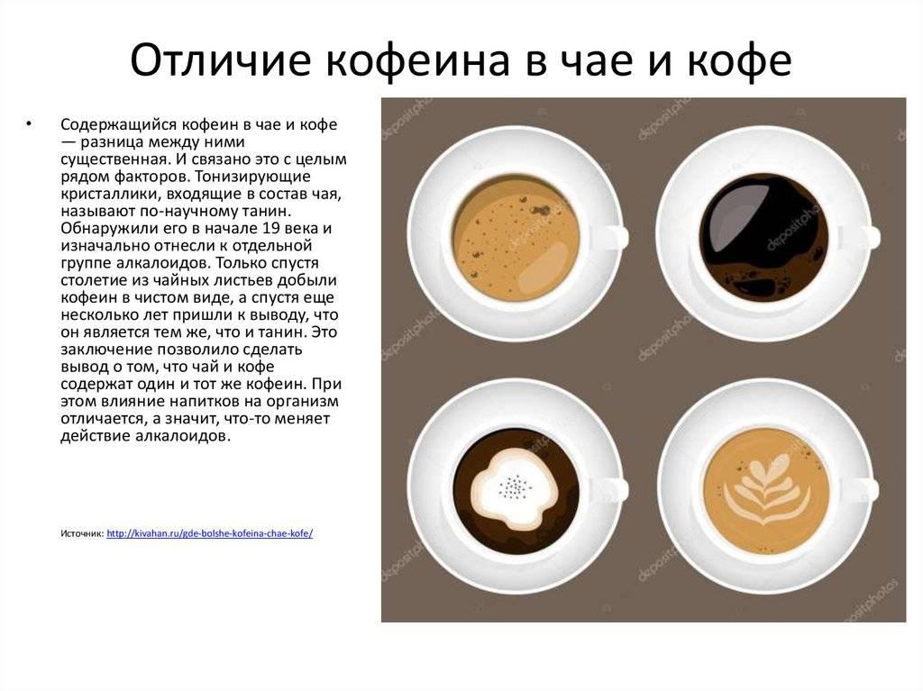 Кофеин в чае: энергия и бодрость