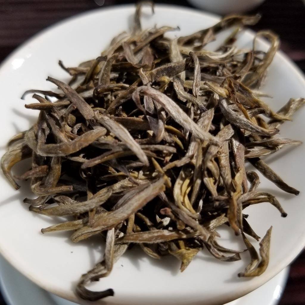 Желтый чай цзюнь-шань инь чжэнь